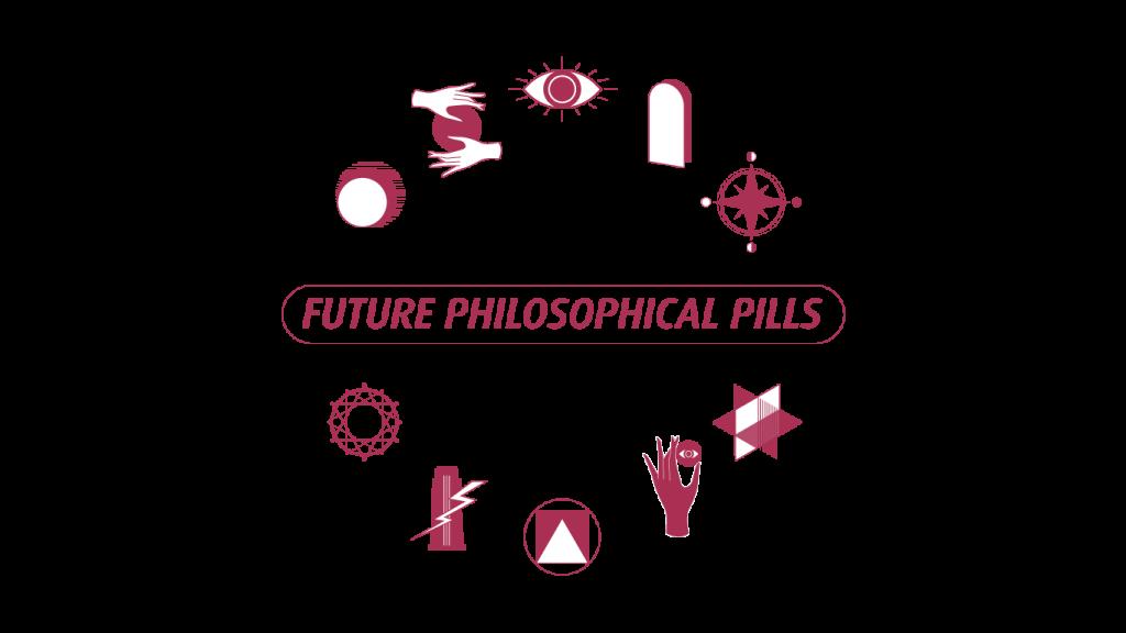 Future Philosophical Pills Cluster Illustration